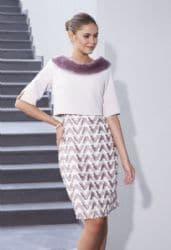 LIZABELLA ROSE DRESS & BOLERO JACKET