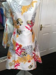 Ella Boo Oriental Print Dress