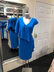 Ella Boo Frill Dress Blue
