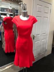 Ella Boo Coral Red Dress