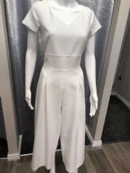 Ella Boo Jumpsuit White