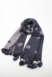 AISLING SCARF NAVY