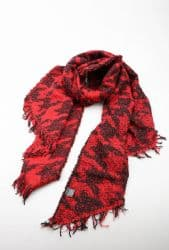 BETHANY RED SCARF